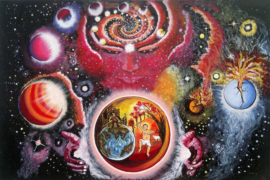 Dream Of Trinity - Print, Fine Art Print, Giclee Print, Canvas Print