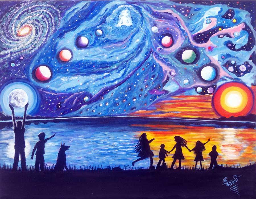 Infinity Of Wholeness - Print, Fine Art Print, Giclee Print, Canvas Print
