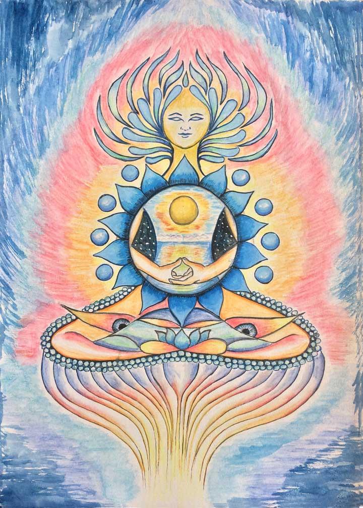 Goddess of Vishuddhi - Throat Chakra