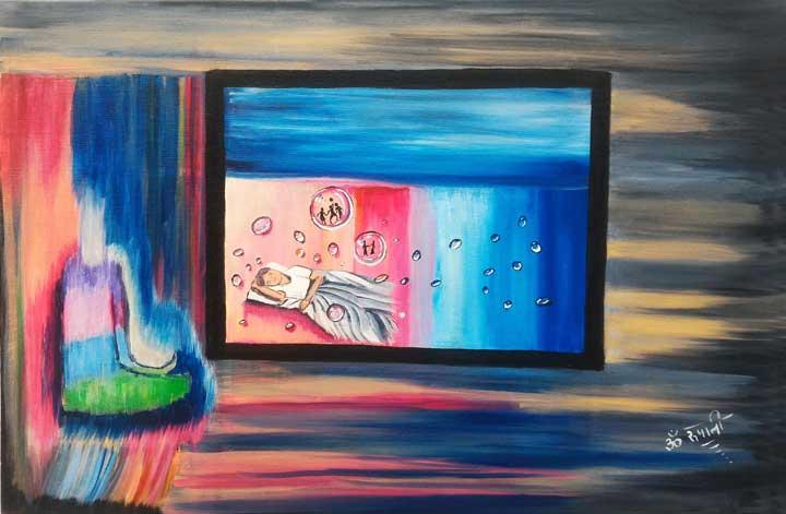 Final Dissolution - Print, Fine Art Print, Giclee Print, Canvas Print
