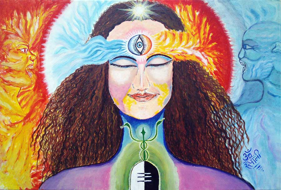 Divine Equilibrium- Print, Fine Art Print, Giclee Print, Canvas Print